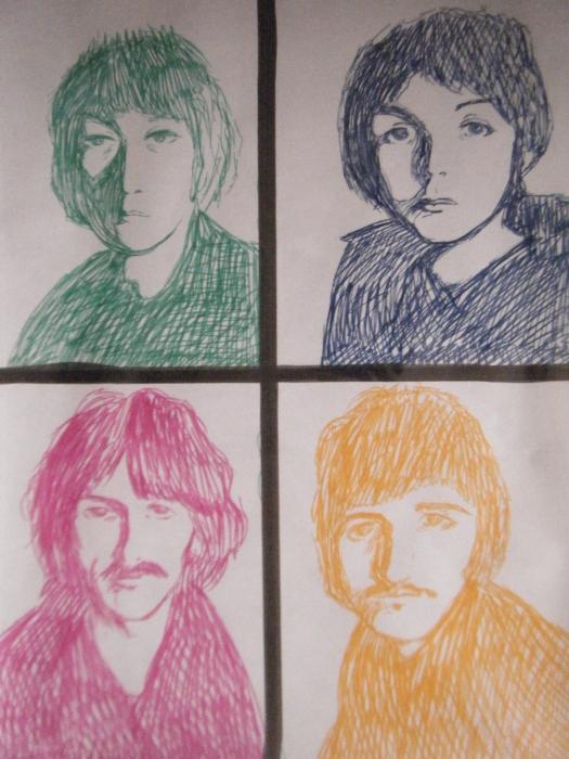 The Beatles por sofiiach